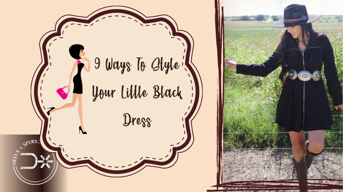 9 Ways To Style Your Little Black Dress