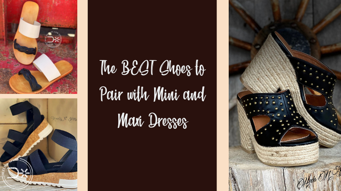 The BEST Shoes to Pair with Mini and Maxi Dresses