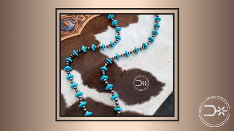 Turquoise Necklace for Some Colour