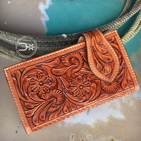 Cowgirl Tooled Wallet