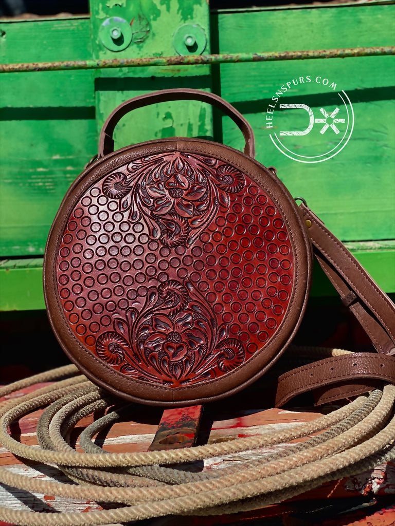 Cowgirl Tooled Crossbody