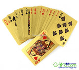 Beautiful 24K Gold Plated Plated Playing Cards - GiftMo