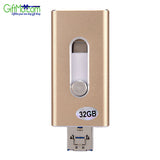 32GB Extra Storage USB i-Flash Drive HD Memory Stick for iPhone6 6S iPad Android - GiftMo