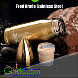 3 Colors Stainless Steel Bullet Vacuum Cold Insulated Thermos Cup Tea Coffee Mug - GiftMo