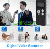 Amazing 8GB Digital Audio Voice Recorder Rechargeable Dictaphone USB Drive MP3 Player