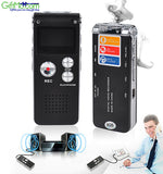 Amazing 8GB Digital Audio Voice Recorder Rechargeable Dictaphone USB Drive MP3 Player - GiftMo