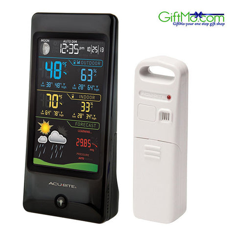 Amazing AcuRite Color Digital Weather Station Forecast Temperature Humidity - GiftMo