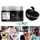 Amazing Bamboo Charcoal Blackhead Remover Deep Clean Purifying Peel Off Mud Face Mask