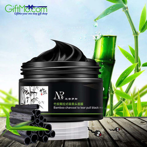 Amazing Bamboo Charcoal Blackhead Remover Deep Clean Purifying Peel Off Mud Face Mask - GiftMo