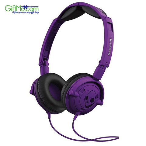 Amazing Sound Quality Skullcandy Lowrider Headphones in Athletic Purple - GiftMo