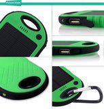 Amazing Waterproof Solar Charger 5000Mah Dual USB Powerbank For Portable Devices - GiftMo