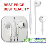 Genuine Apple iPhone 6-6 plus EarPods White Headsets with Remote & Mic - GiftMo