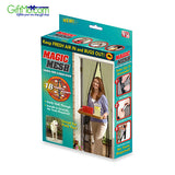 As Seen On TV Magic Mesh Magnetic Screen Door - Easy To Install - GiftMo