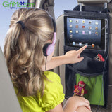 Backseat Convenient Traveling Car Storage Organizer Touch Screen Accessible iPad & Tablet Pocket - GiftMo