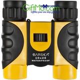 BARSKA 10x25 Colorado, Yellow, Compact, Blue Lens - GiftMo