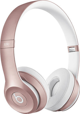 Beats by Dre Solo 2 Wireless On-Ear Headphone in Rose Gold Limited Edition - GiftMo