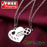 Beautiful Best Friends For Life Necklace - GiftMo