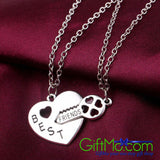 Beautiful Best Friends For Life Necklace