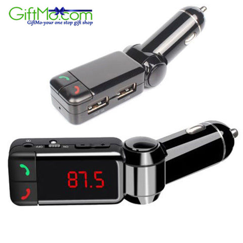 Amazing Bluetooth Music Receiver 3.5mm Adapter Handsfree Car AUX Speaker FM Transmitter