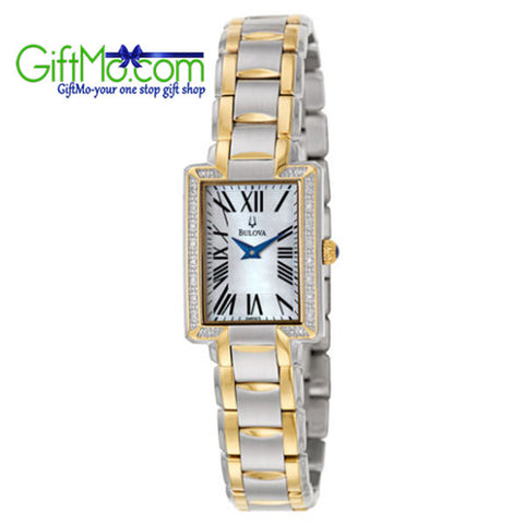 High End Bulova Fairlawn Women's Quartz Watch - GiftMo