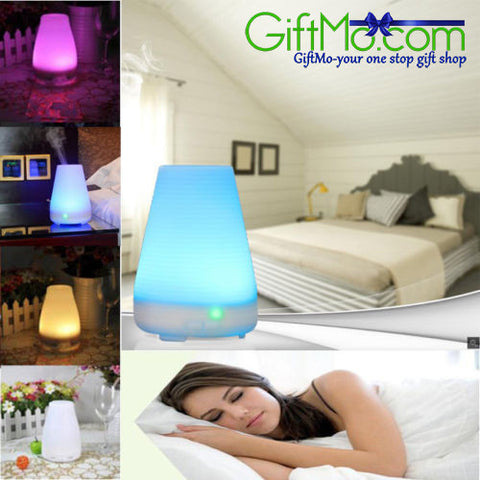Color Changing Ultrasonic Humidifier & Oil Diffuser - GiftMo