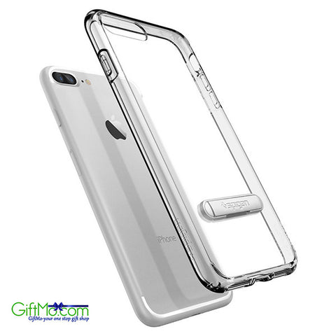 Crystal Clear Shockproof Case With KickStand for Apple iPhone 7 Plus - GiftMo