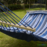 Amazing Restfull Quilted Fabric Double Size Hammock With Pillow - GiftMo