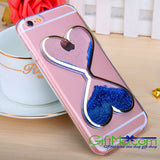 Dynamic Liquid Glitter Quicksand Clear Soft Phone Case Cover iPhone and Samsung