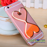 Dynamic Liquid Glitter Quicksand Clear Soft Phone Case Cover iPhone and Samsung - GiftMo