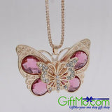 Exquisite Fashion Alloy Butterfly Chain Necklace
