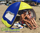 EasyGO Sun Shade Instant Pop Up Family Beach Umbrella Tent & Shelter Shack - GiftMo