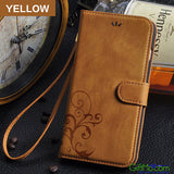 Retro Leather Flip Wallet Cover iPhone Case - GiftMo