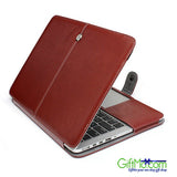 Genuine Leather Unique Protective Macbook Sleeve Case Cover - GiftMo