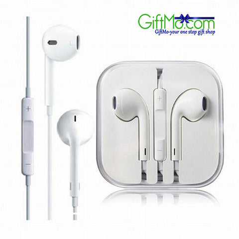 Hot Deal Genuine Original Apple MD827LL/A OEM EarPods Headset with Remote and Mic - GiftMo