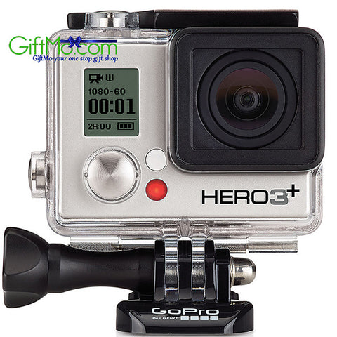 GoPro HERO3+ Silver Edition Camera Manufacturer Refurbished - GiftMo
