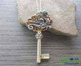 Handmade Dragon Key Necklace - GiftMo