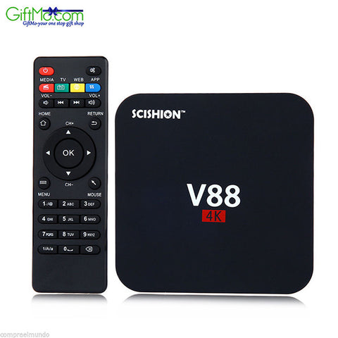 High Tech SCISHION V88 TV Box Rockchip 3229 Quad Core - GiftMo
