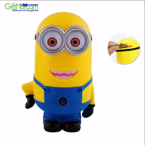 "Copy of Hot Offer 3D Minions Cartoon ""Piggy Bank Money Box"" Perfect Saving Bank Kids and Children Gift Toy - GiftMo"