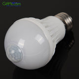 LED SMART Light Bulb - Infrared Motion Sensor White Light Bulb