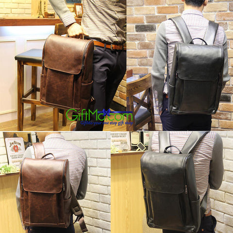 Stylish Leather Vintage Multipurpose Shoulder Backpack - GiftMo
