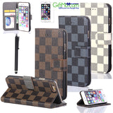 Luxury Fashion Leather Wallet Card Flip Case Cover For Apple iPhone 6 /6 Plus SE - GiftMo