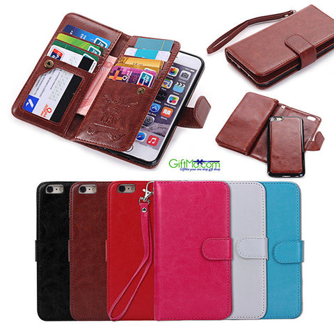 Luxury Magnetic Cover Stand Wallet Leather Case For Apple iPhone 7 6S 6 Plus