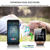 Most Amazing Bluetooth Smart Watch Phone + Camera SIM Card For Android IOS Phones