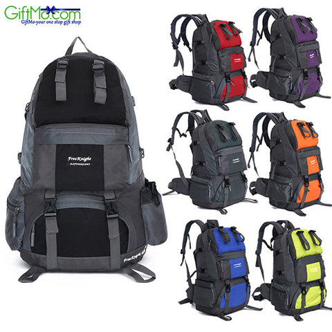 Outdoor Backpack Hiking Waterproof Pack Mountaineering Bag - GiftMo
