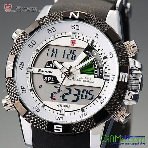Perfectly Designed Army LCD Date Day Sport Silicone Watch