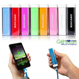 Powerful 2x Portable Emergency Battery Charger GO External USB Power Bank - GiftMo
