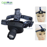 Powerful Headlamp CREE Q5 3W LED Zoomable 3 mode Torch Light Flashlight - GiftMo