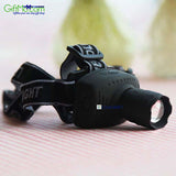 Powerful Headlamp CREE Q5 3W LED Zoomable 3 mode Torch Light Flashlight