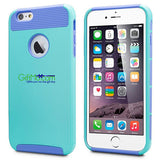 Protective Armor Rugged Rubber iPhone Case