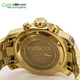 On Sale - Invicta Men's 0072 Pro Diver Collection Chronograph 18k Gold-Plated Watch